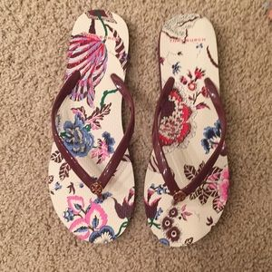 NWT TORY BURCH FLIP FLOP THONG SANDALS 10
